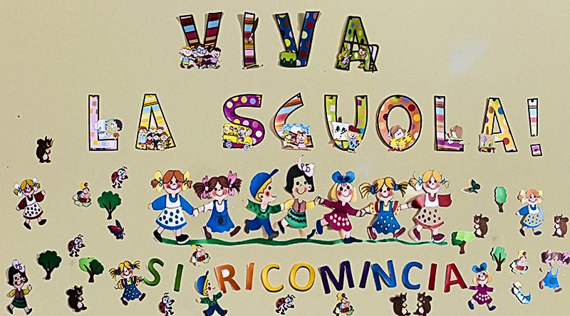 Scuola dell 39 infanzia bilingue umberto i si ricomincia for Idee per l accoglienza nella scuola dell infanzia