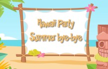 Hawaii Party – Summer bye-bye