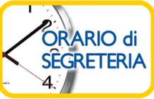 Orario Segreteria